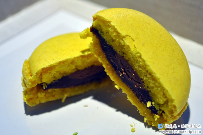 森製菓馬卡龍檸檬牛奶巧克力口味