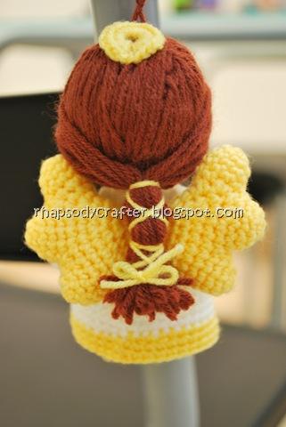 rhapsody craft: angel amigurumi