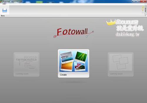 免費軟體美編系列-用FOTOWALL拼出你最愛的圖形