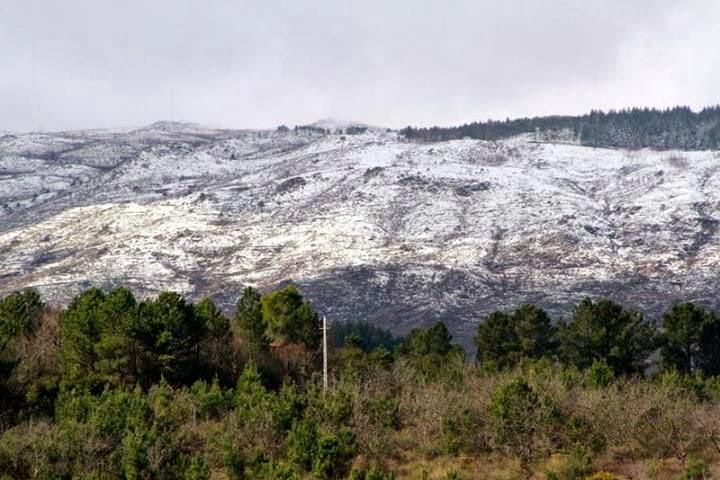 Fotos - Serra das Meadas com Neves