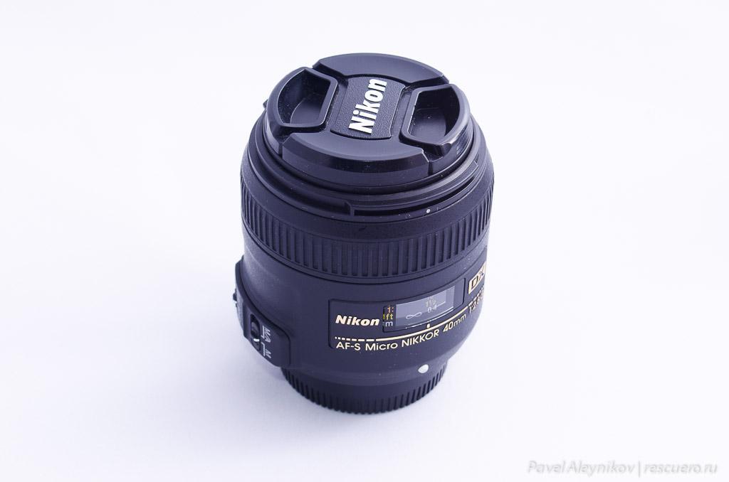 Макро-объектив Nikkor 50mm f/1.8G AF-S