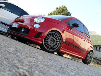 Fiat 500 Abarth Compomotive Wheel