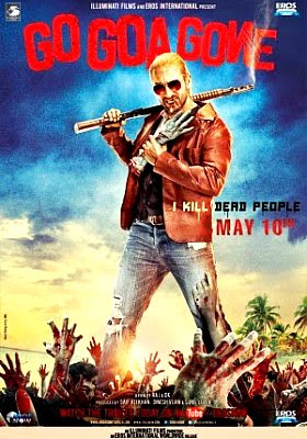 Filme Poster  Go Goa Gone HDRip XviD & RMVB Legendado