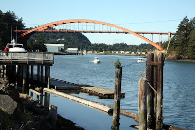 Bridge in La Conner, Washington