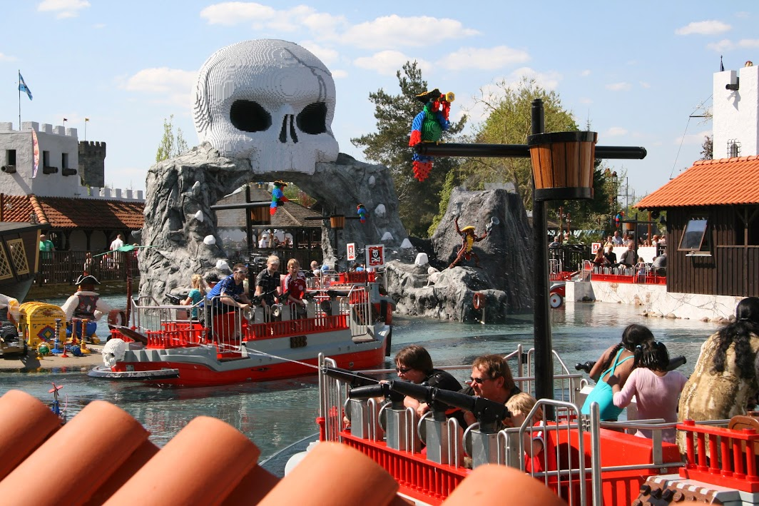Legoland bateaux pirates attraction