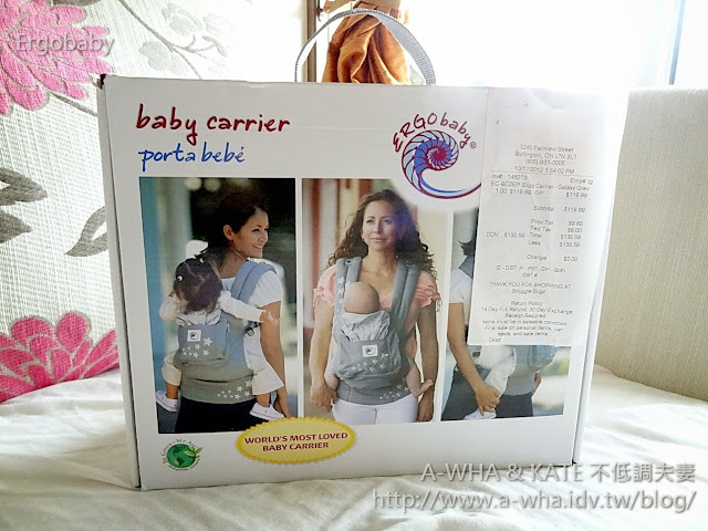 【嬰兒背帶推薦】Ergobaby嬰兒背帶開箱~感謝好友熱情贊助