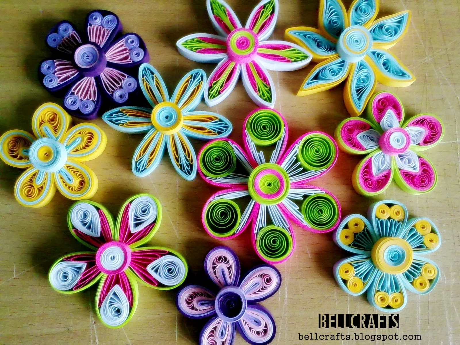 How To Make Paper Quilling Fringed Flowers Best Image Of Quilled