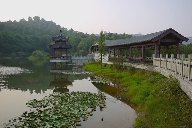 Chuan Shipo Lake (穿石坡湖) at Yuelu Mountain (岳麓山) in Changsha, China