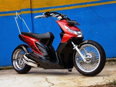 Honda Revo Modifikasi Touring