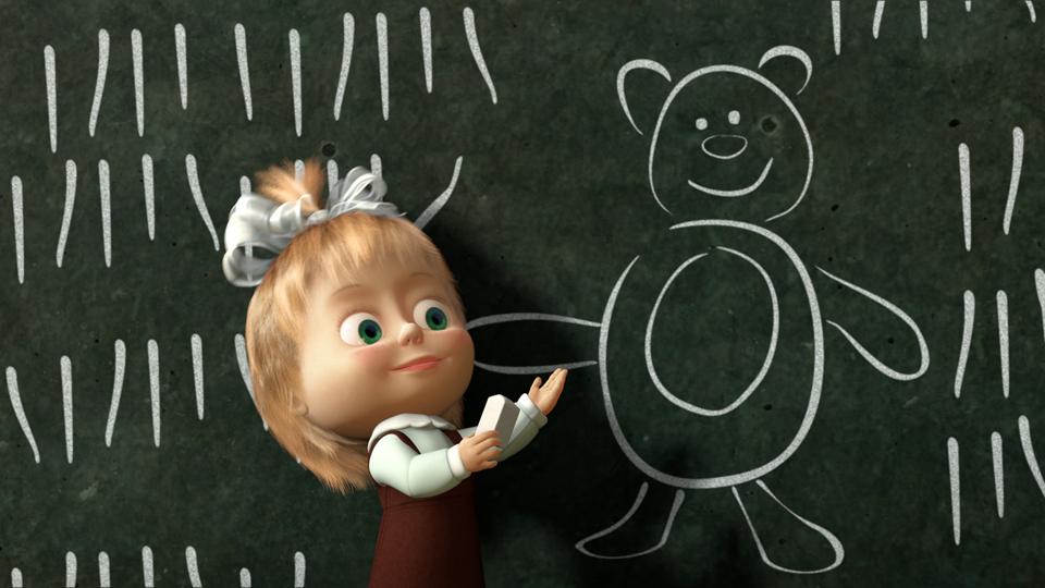 Russia planet cartone animato masha e l orso