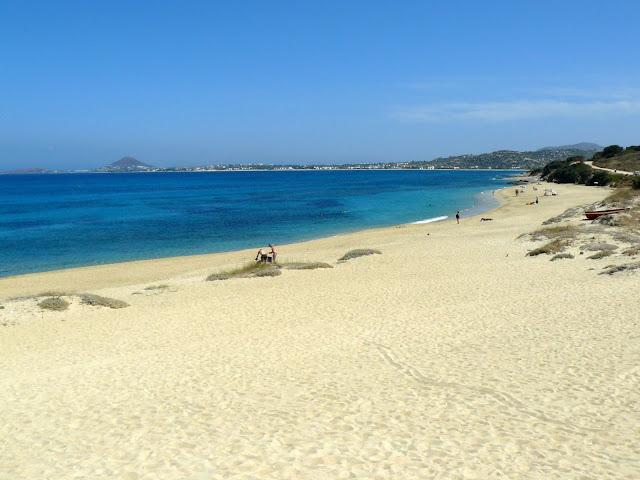Naxos, spiaggia di Mikri Vigla