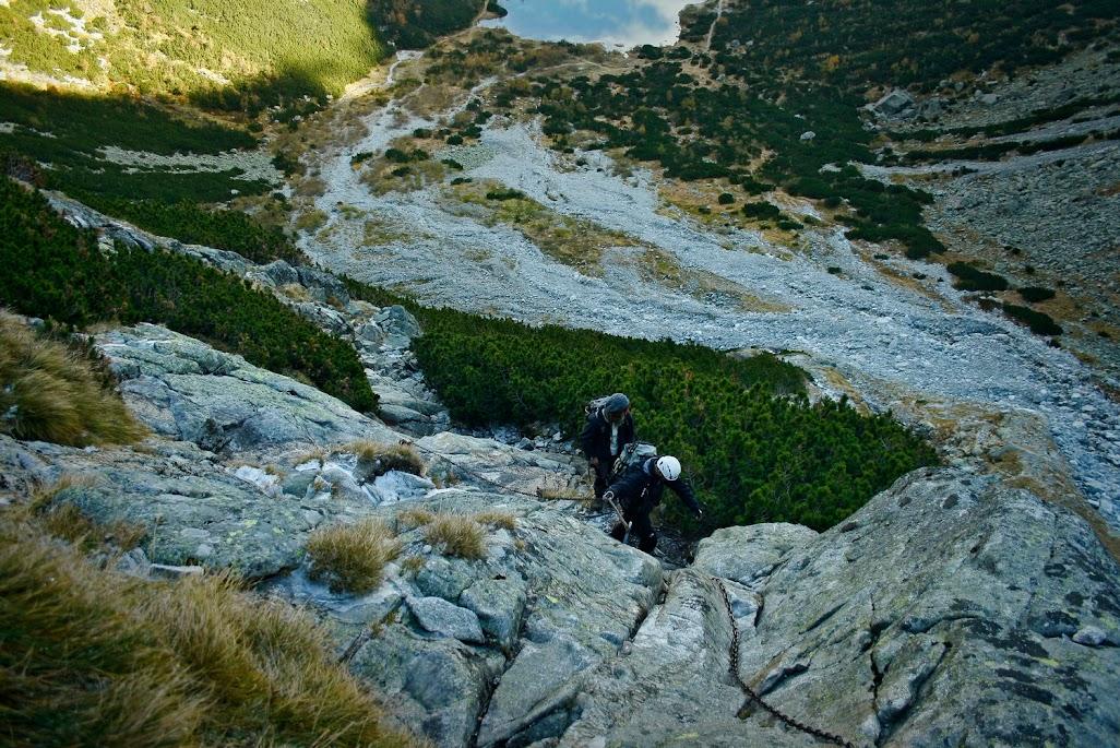 Podejście do Doliny Dzikiej
