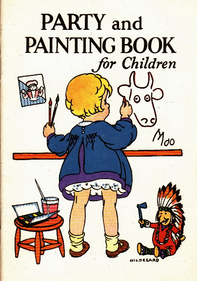 Junket Party and Painting Book for Children | 1928