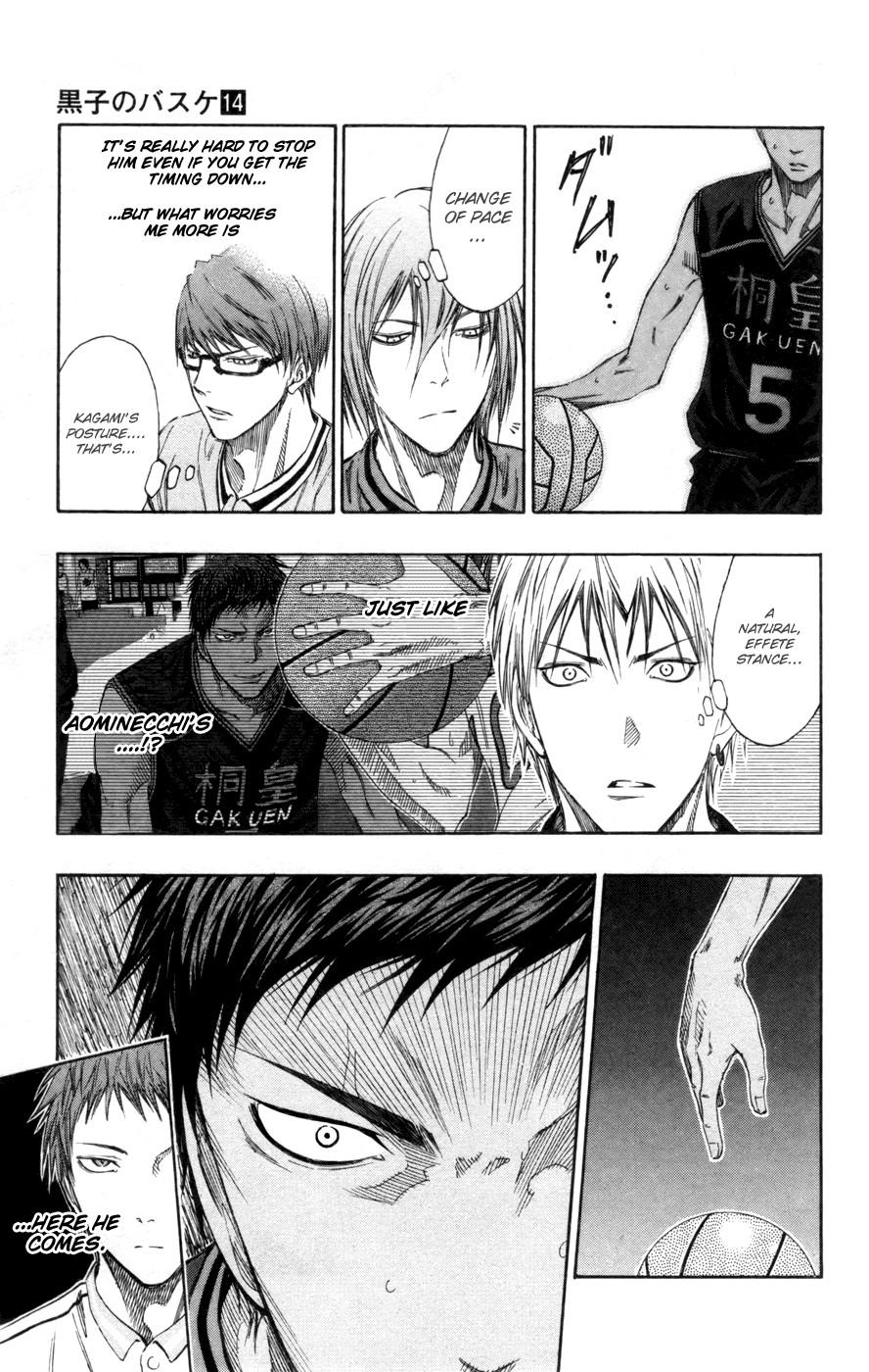 Kuroko no Basket Manga Chapter 121 - Image 07