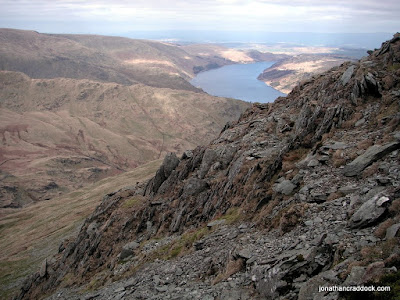Haweswater seen from ascent of Harter Fell