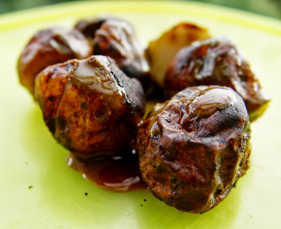 Balsamic Thyme Baby Potatoes
