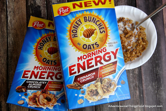 Honey Bunches of Oats Morning Energy cereal