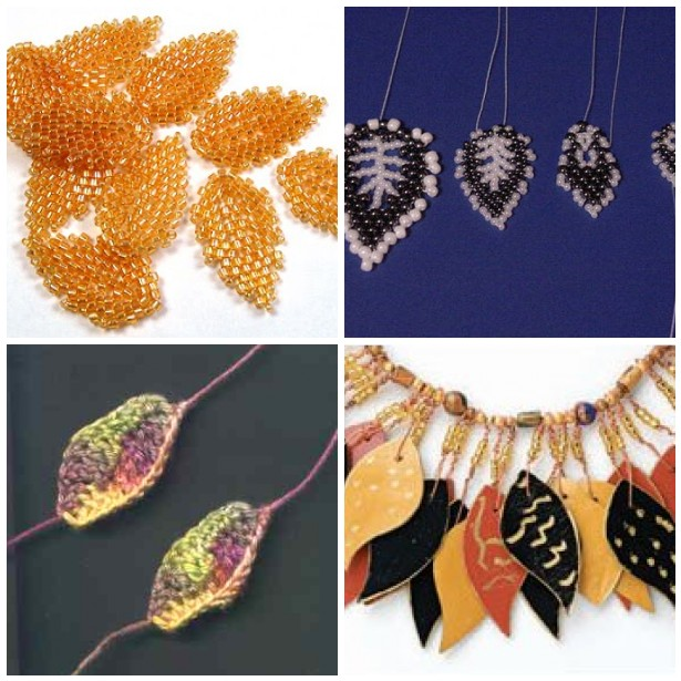 Beaded Leaf Tutorials