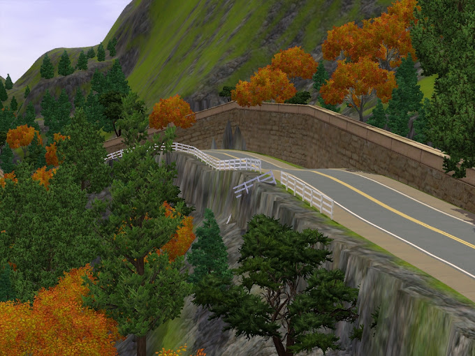 mountain map sims3