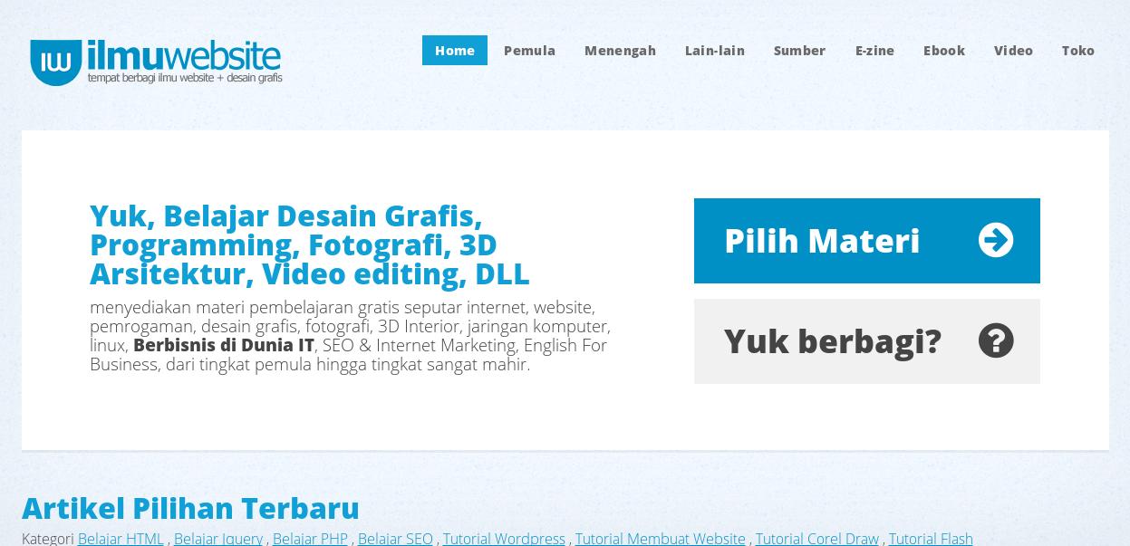 Ilmu Website