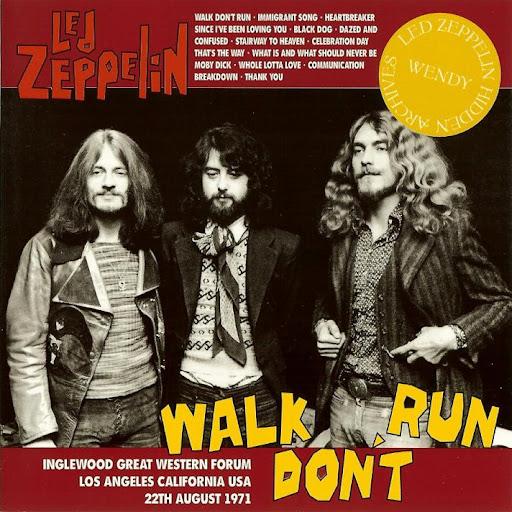 Led Zeppelin - 1971-08-22 - Inglewood - Guitars101 - Guitar
