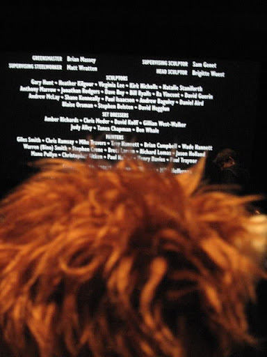 Frodo and the credits