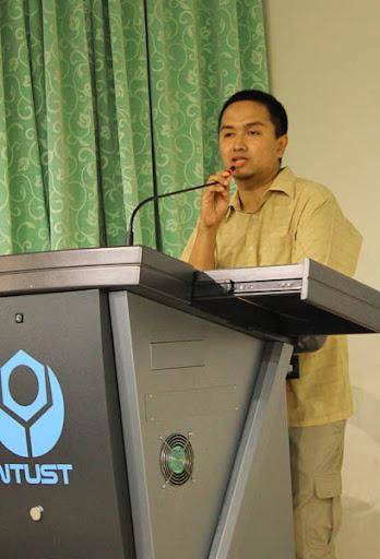 Pak Chairul Irawan bercerita