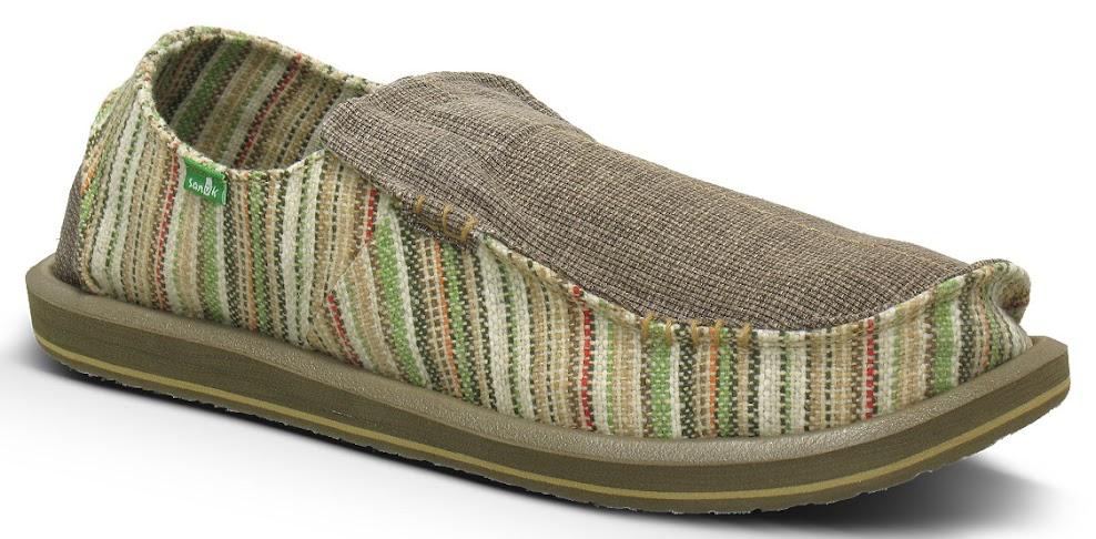 *Sanuk 左右不對稱立體:FUNK SHWAY懶人鞋! 2