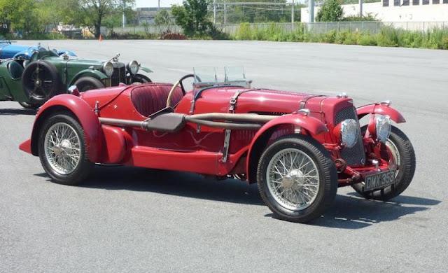 Aston Martin LM23, 1936 г.