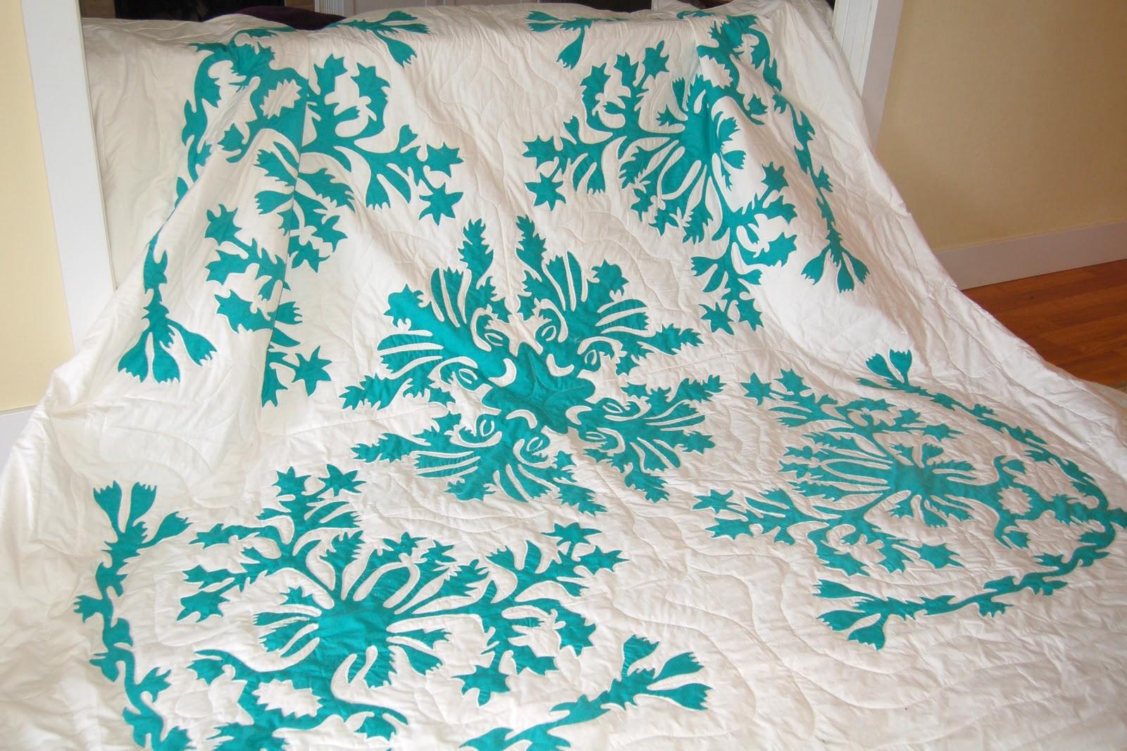 Stitchnquilt Lael S Hawaiian Quilt