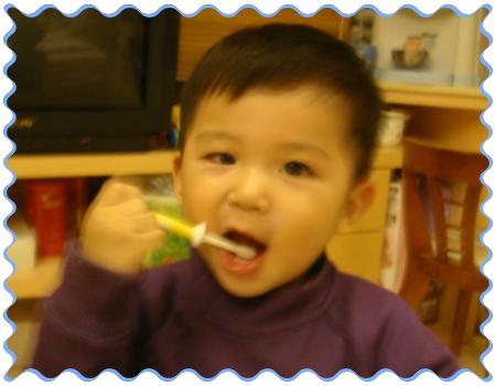 我是愛刷牙的可愛寶貝