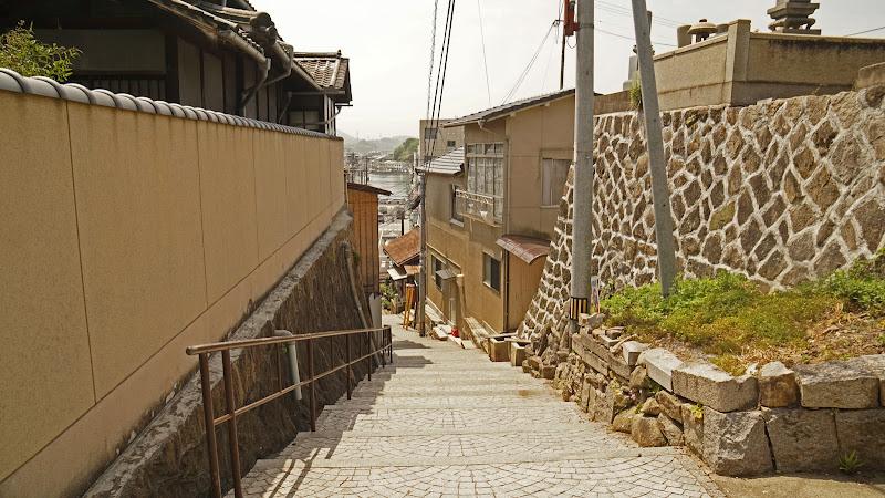 尾道 坂 写真