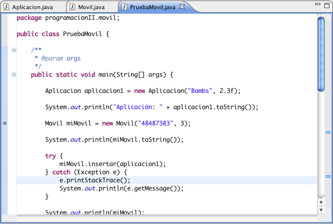 eclipse 2017 how to write java