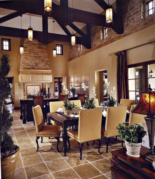 The enchanted home for Great room lighting high ceilings