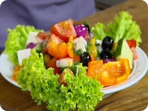 Салат из свежего болгарского перца.