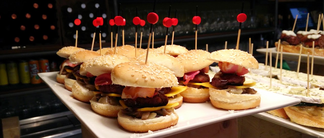 Mini Beefburger Tapas! Wooo yeah!