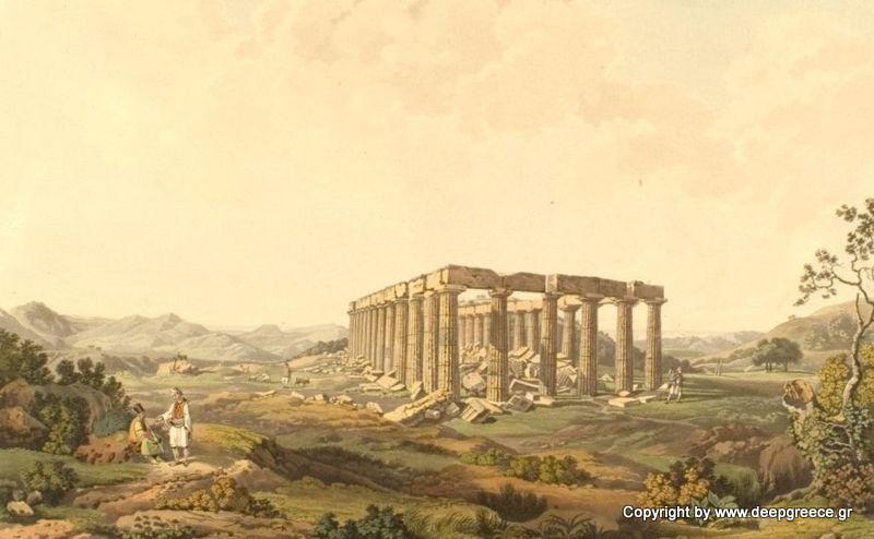 temple of epicurean apollo in andritsaina elia arcadia