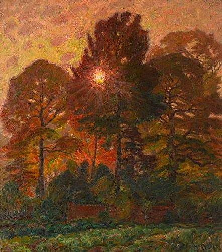 Leon De Smet - Soleil d'automne