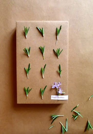 rosemary gift wrapping