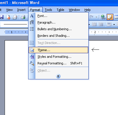 Themes In Microsoft word 2003 ~ Microsoft Office Support