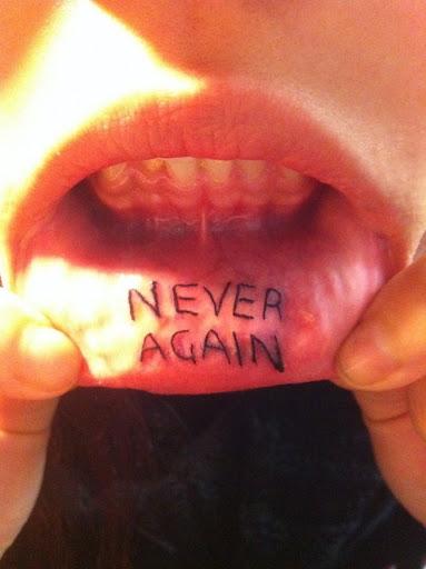 inner lips tattoos
