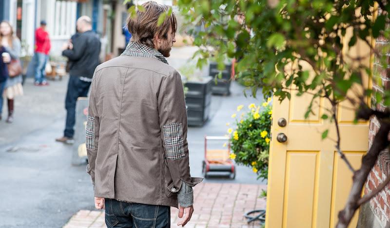 Green Trail Blazer: Back Shot