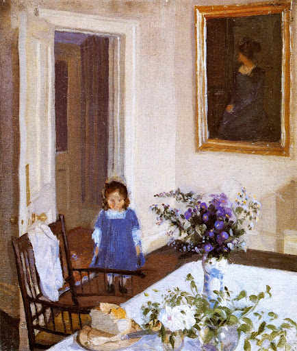 Harold Gilman - Interior