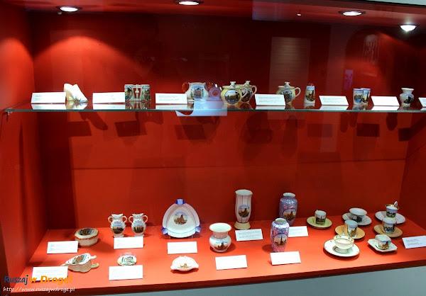 Ratusz Głównego Miasta Gdańska - wystawa porcelany