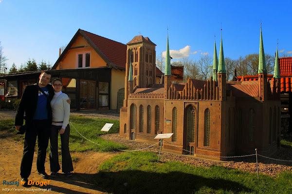 Kaszubski Park Miniatur Strysza Buda - Kościół Mariacki