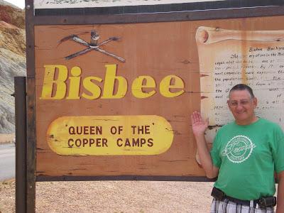 Hi from Bisbee!