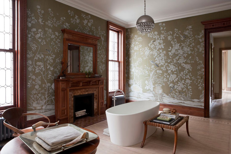 Brooklyn brownstone master bath