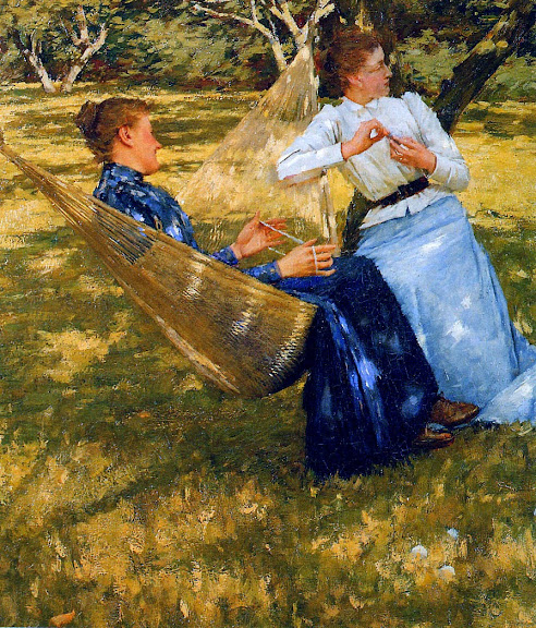 Henry Herbert La Thangue - In The Orchard