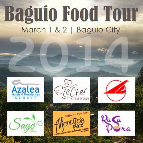 Baguio Food Tour 2014