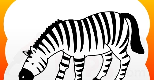 How2draw4kids How To Draw Zebra For Kids